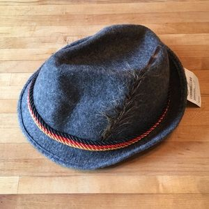 Other - NWT German alpine hat in gray